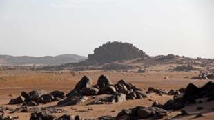 Contreforts du massif du Tigharghar.